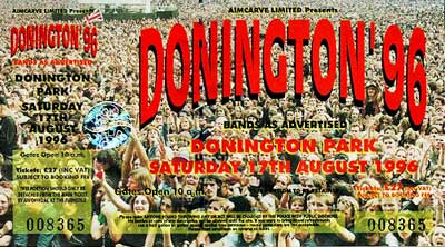 Donington 1996 – bussresan från helvetet