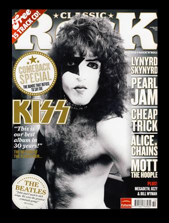 Paul med i Classic Rock