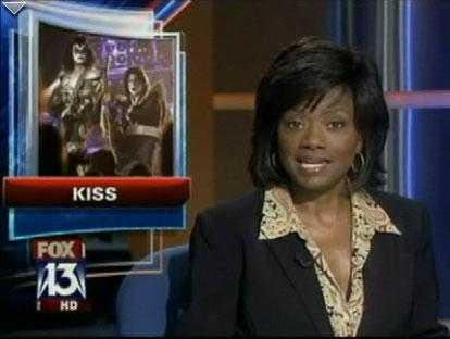 Kiss på Fox 13