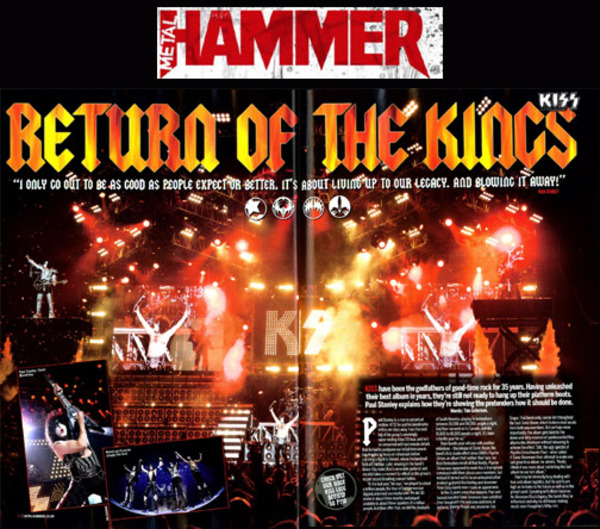 Paul med i Metal Hammer